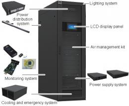 Racks and Integrated Solution Graphic
